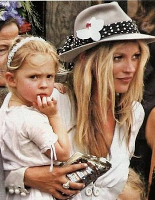 kate moss style book. KATE MOSS AND LILA GRACE