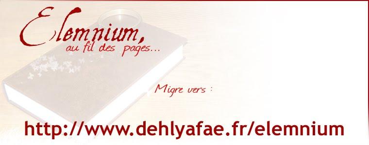 Elemnium, au fil des pages...