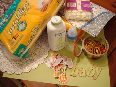 HOW TO MAKE A DIAPER CAKE,