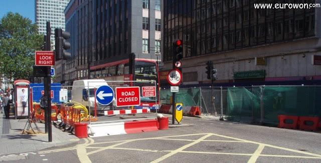 Obras en Londres