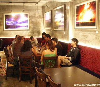 Quedada de hispanos en Seúl
