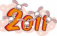 2011, año del conejo blanco