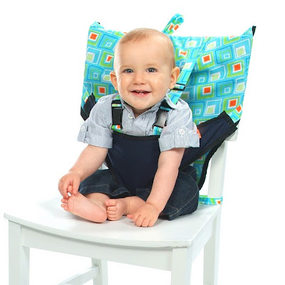 Fabric Travel High Chair For Baby Sitting Up Support