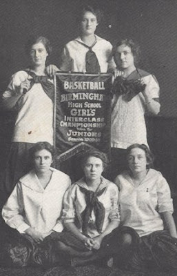 Birmingham High School's womens basketball team