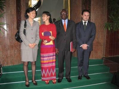 >Gambari & his associates missed Daw Suu