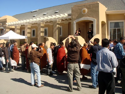 >Burmese celebrated Thadingyut Festival at Halfmoon Bay Monastery