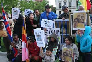 >Burmese in Fort Wayne in solidarity with DASSK