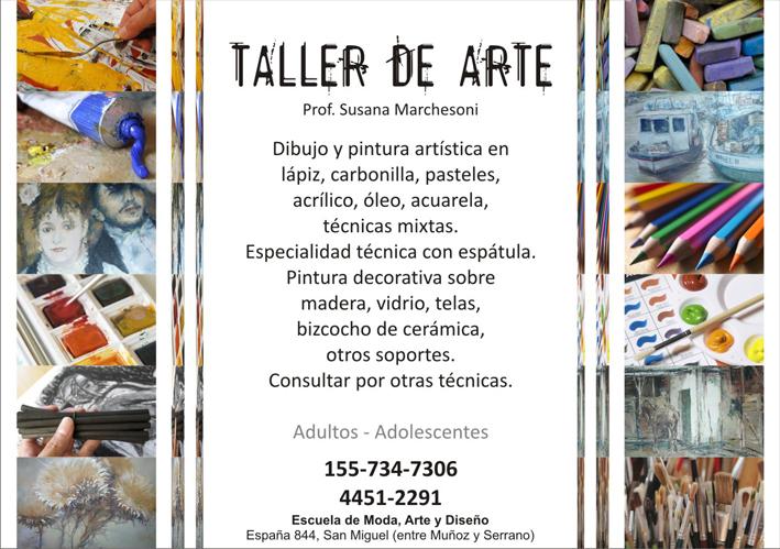 Escuela moda arte y dise o taller de arte for Taller de artesanias