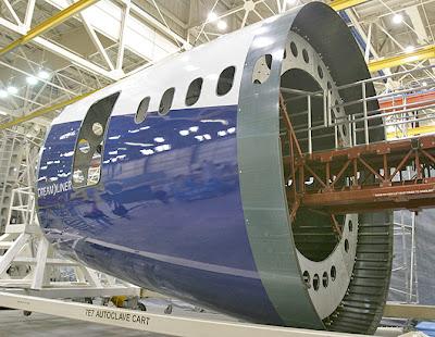 Cono de cola del Boeing 787