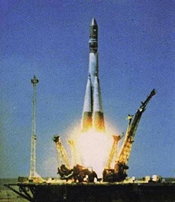 lanzamiento de la Vostok-1
