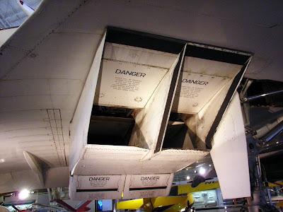 Detalle del sistema de rampas en la entrada de los motores.