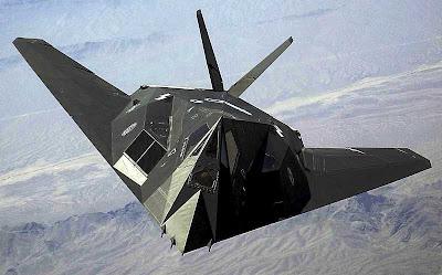 Avión espía F-117