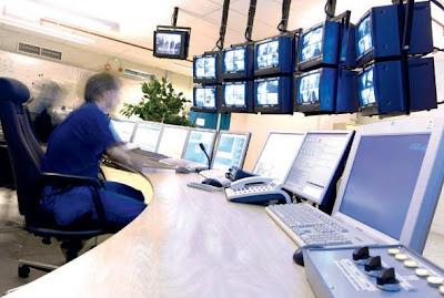 Sala de control de un SATE (Van Der Lande Industries)