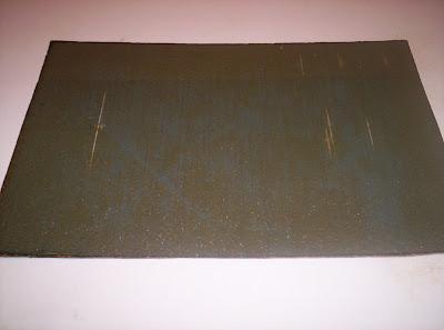 Panel de material compuesto con varios impactos
