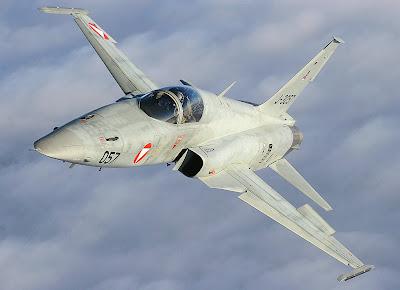 Un caza F-5