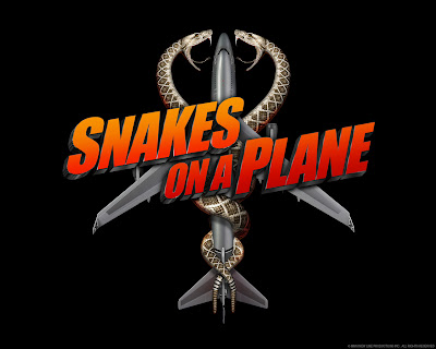 Cartel de la pelcula Snakes on a Plane