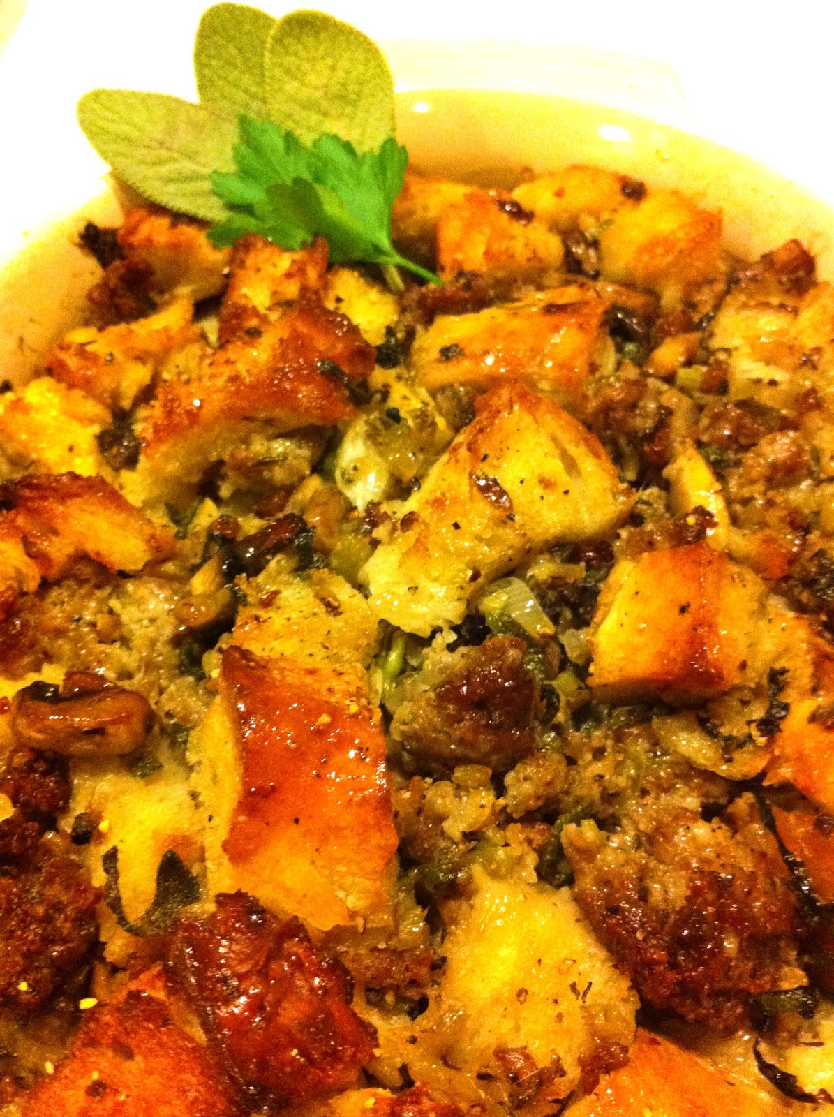 Classic Sage And Sausage Stuffing (or Dressing) Recipe ...