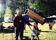 Un telescopio de madera en Georgia