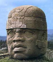 Cabezas colosales cultura Olmecas.
