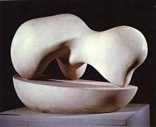 Jean Arp (1886 - 1966).
