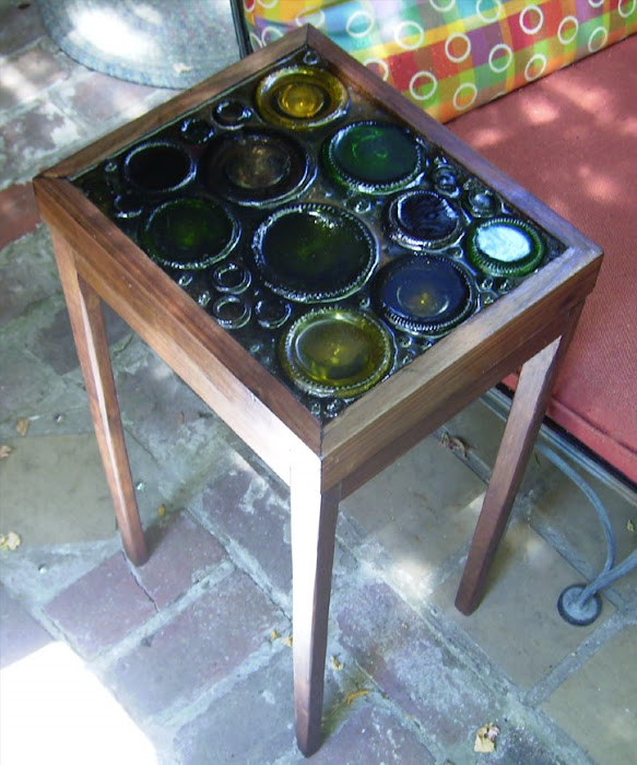 Wine Bottle Coffee Table