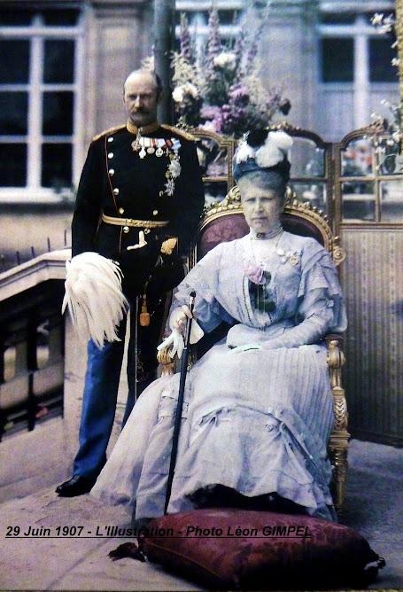LA PREMIERE PHOTO EN COULEURS PUBLIEE DANS LA PRESSE LE 29 JUIN 1907