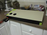 Control panel cladding