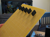 Resistor board with bridge rectifier