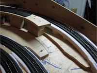 Track grade reduction