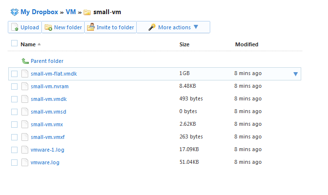 How to run a VM on Dropbox Storage | virtuallyGhetto