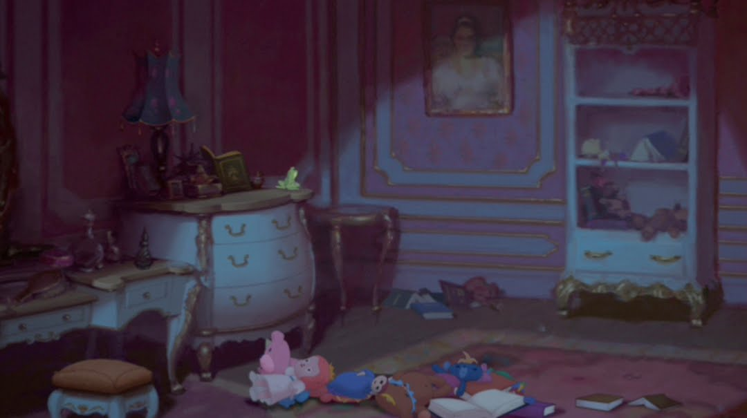 Animation Backgrounds: THE PRINCESS AND THE FROG
