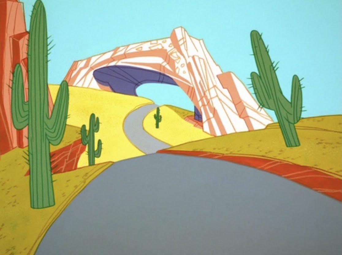 Looney tunes desert background - photo#13