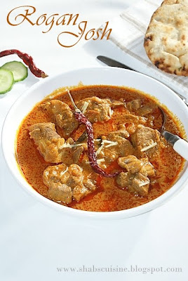 Rogan Josh (A North Indian Mutton Curry)