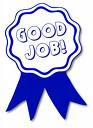 """Good job"" award!"