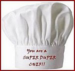 I am a super duper chef!