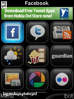 Screenshot0111 Snaptu v1.2.5 Facebook,Twitter,Picasa,Livescore,RSS R