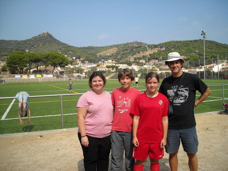 2008. La Laia Farell i Teixidó, futbolista.