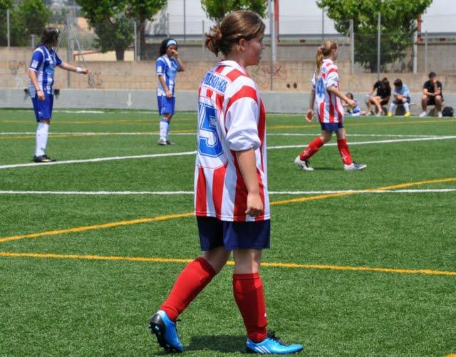 Juny 2010. La Laia Farell i Teixidó amb el seu nou equip: Vilassar de Mar.