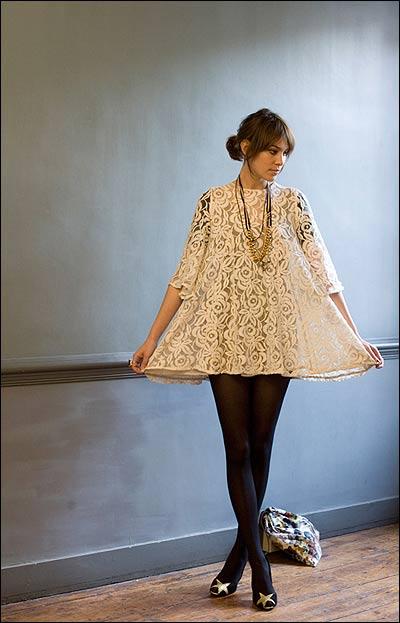 alexa chung dress -1