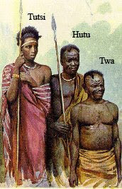 Differences Between the Hutu, Tutsi, and Twa