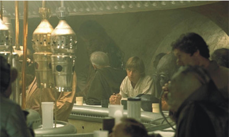 Cantina Bar Star Wars Collecting Glasses