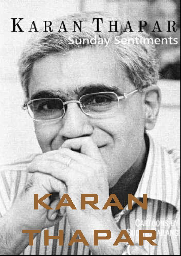 Articles of Karan Thapar