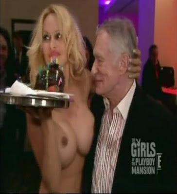 Where learn Pamela anderson hugh hefner nude