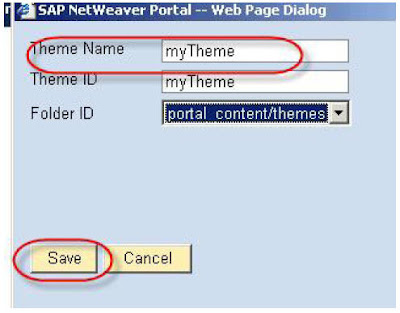 Changing the Banner and Logo in SAP EP THEME onlysapep.blogspot.in only sap ep  blogspot