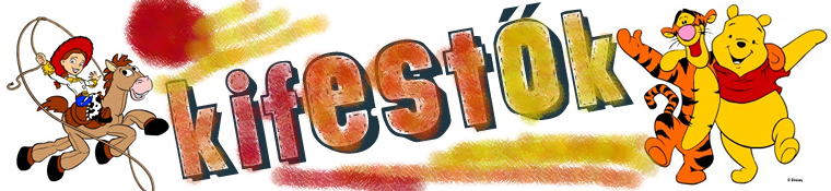 Kifestő és színező játékok gyerekeknek