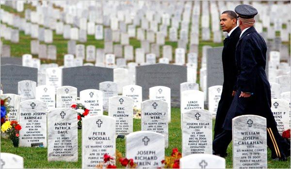 Troops n Obama