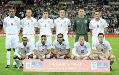 Los 32 equipos que iran al mundial Inglaterra