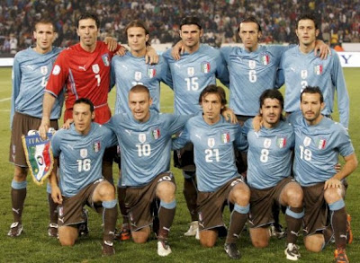 Los 32 equipos que iran al mundial Italia