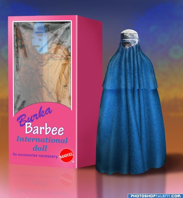 Regarding Muslims and Islam: could there be an element of truth in this? - Page 2 Barbie-burka