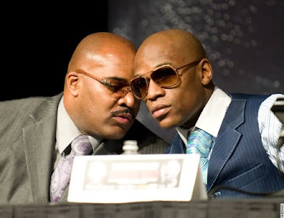 Final Press Conference Floyd and Promoter